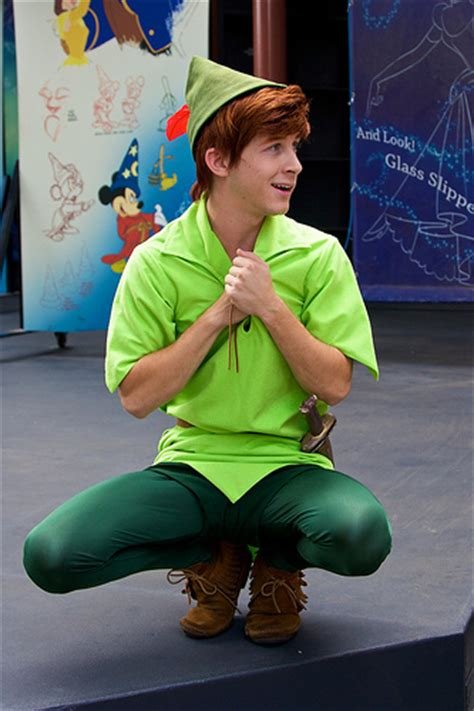 disneyland peter pan disneyland aug 2009 meeting peter pan flickr photo