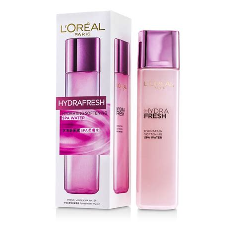 L Oreal Hydrafresh l oreal hydrafresh hydrating softening spa water for normal to skin fresh