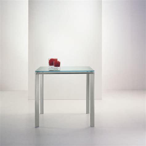 tavoli 80x80 tavolo logico 80x80 cm in vetro by pedrali lovethesign
