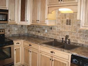 stone backsplash design feel the home tumbled stone kitchen backsplash photos