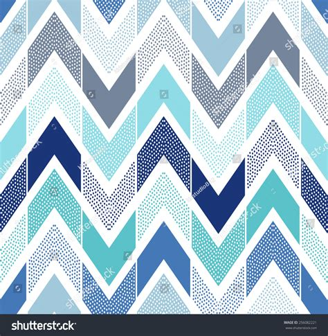 doodle pattern tiles seamless doodle dots chevron tiles pattern stock vector