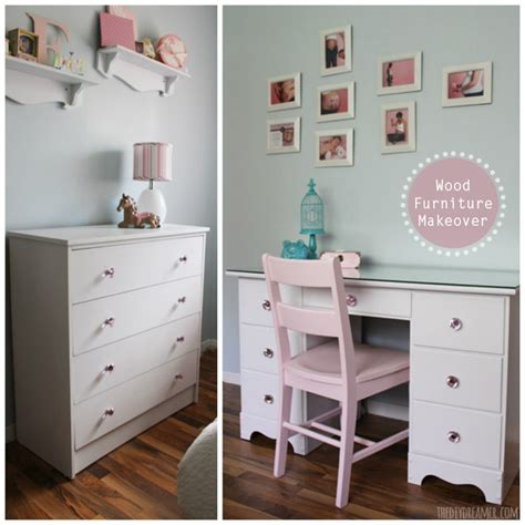 How To Makeover A Dresser by Wood Furniture Makeover Desk And Dresser Transformation