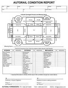 Vehicle Condition Report Template Vehicle Condition Report Images