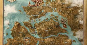 The Witcher World Map by 9 Massive Open World Games You Ll Never Finish Exploring