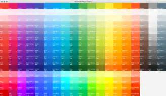 color code from image harmonic code colors
