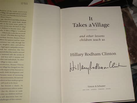 signed books rodham clinton autographed book