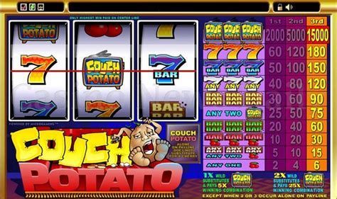 couch potato game couch potato pokies game to make you lazy