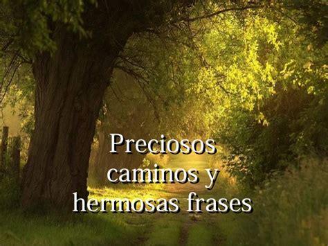 imagenes de paisajes y caminos caminos preciosos y hermosas frases