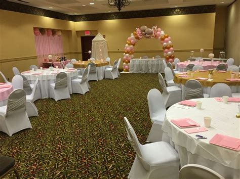 Baby Shower Setup Pictures by Room Setup The Glitter The Pearls Baby