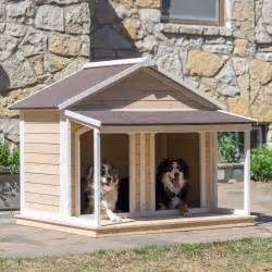 Small Home Dogs House Outdoor Pet Bed Kennel Doghouse Duplex