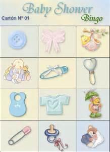 loteria para baby shower image imprimir juegos