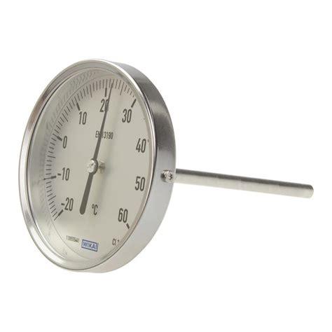 Termometer Bimetal bimetal thermometer wika a52 100 3906876 automation24