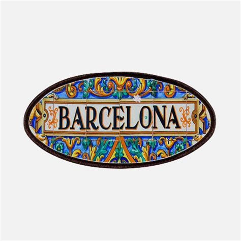 Patch Barcelona patches iron on patches