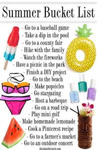 things to do at home with friends the ultimate summer list for 2016 summer buckets