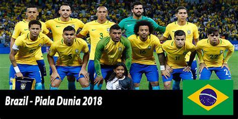 tim nasional brazil piala dunia rusia 2018 prediksi bola