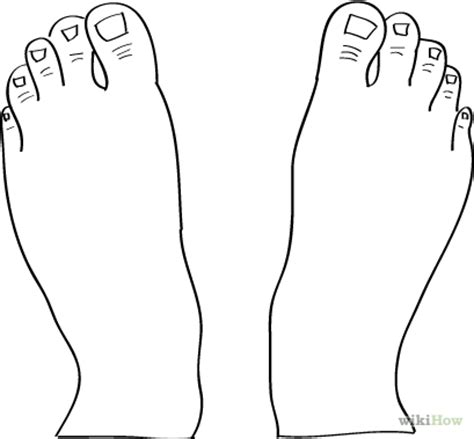 pin foot outline drawing on pinterest