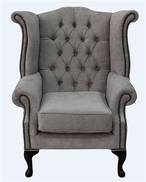 high back sofas and chairs hessian fabric chesterfield high back chair designersofas4u