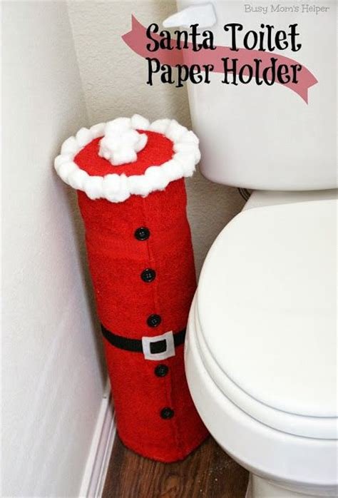 toilet paper santa craft santa toilet paper holder misc ideas