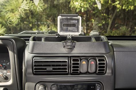 jeep wrangler mount dash multi mount 97 06 wrangler tj jeepmania
