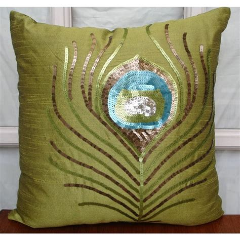 Green Throw Pillow Covers by Decorative Throw Pillow Covers Accent Pillow By Thehomecentric