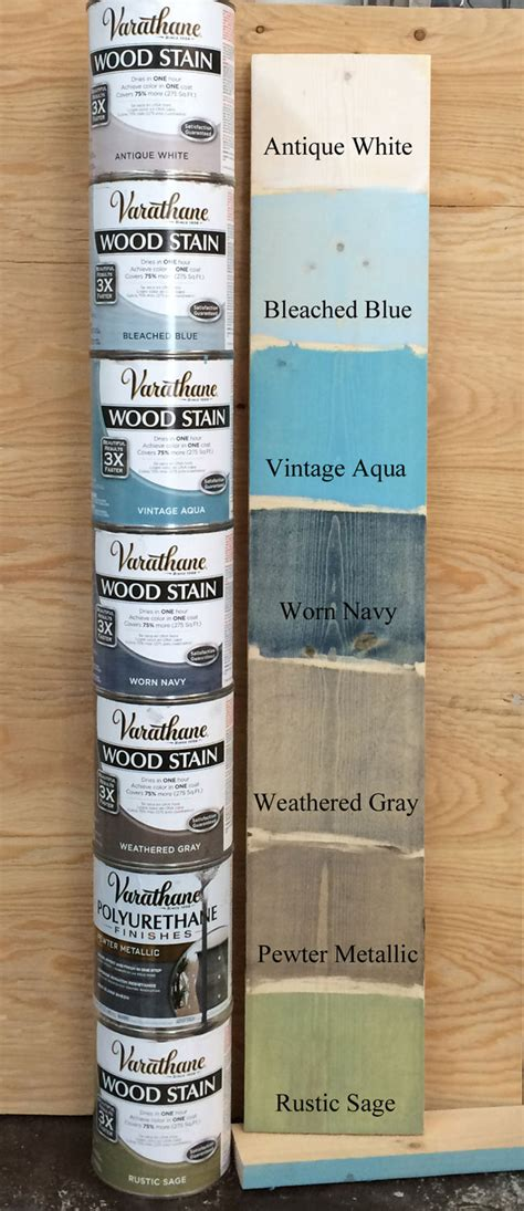 colored stains white woodworking projects