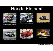 Honda Element  What People Think I Do Really