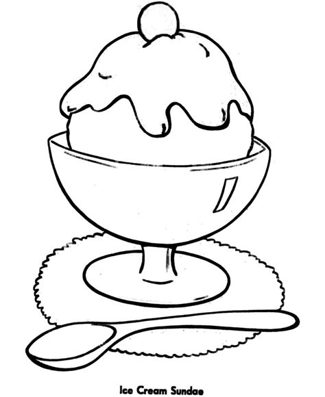 coloring pages easy print free printable ice cream coloring pages for kids