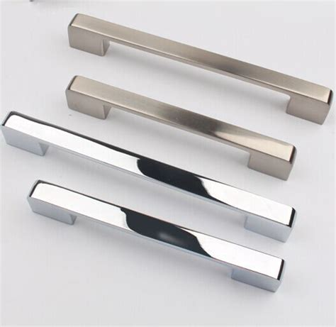 Door Handles For Kitchen Cabinets by 96mm Silver Drawer Kitchen Cabinet Handle Stain Nickel