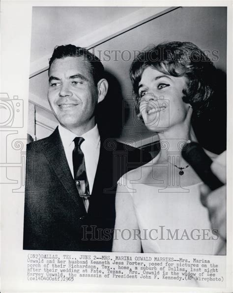 Kenneth Jess Porter Also Search For 1965 Press Photo Mrs Marina Oswald And Husban Kenneth