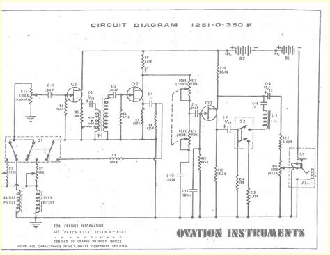 sophisticated ovation wiring diagram photos best image wiring