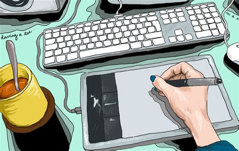 how to create digital doodle draw directly on your desktop