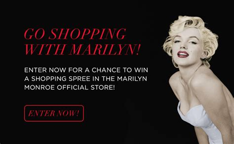 Store Sweepstakes - marilyn monroe store sweepstakes