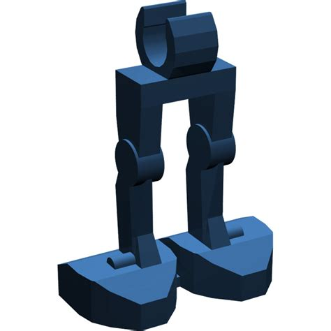 Lego Legs Blue Minifig Part lego blue minifig mechanical legs brick owl lego marketplace