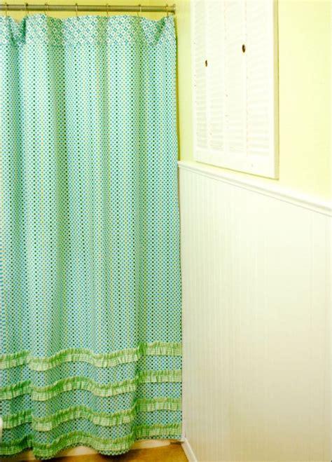 shower curtain pattern free pattern cute ruffled shower curtain by jona