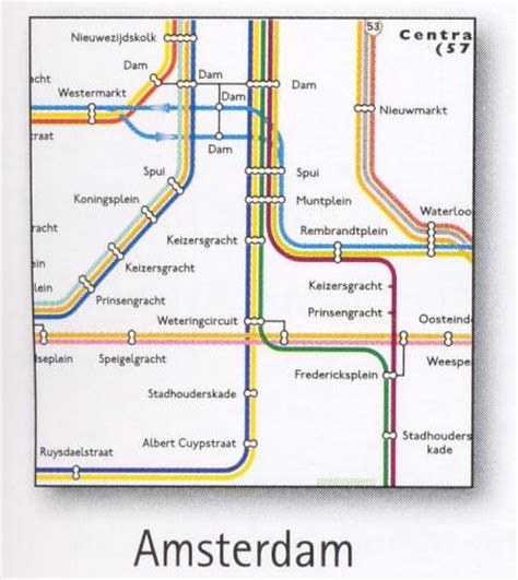netherlands metro map amsterdam transport map the netherlands tram and metro