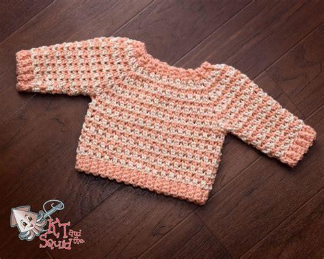 newborn baby sweater pattern striped newborn crochet sweater pattern favecrafts