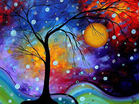 colorful painting 17 landscape painting by madart 0