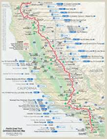 pacific crest trail on hiking kayaking and