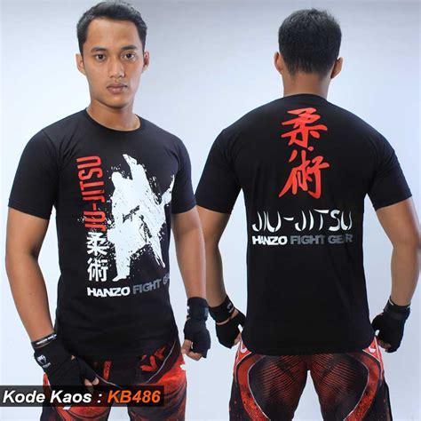 Kaos Jiujitsu kaos jiujitsu hanzo fight gear sms wa 085786299268