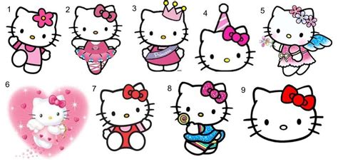 Decofun Wall Stickers 30 personalized hello kitty birthday mini bubbles label