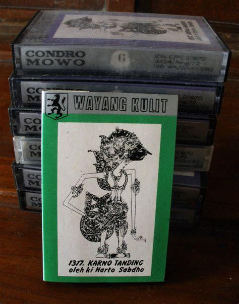 Kaset India kaset wayang kulit