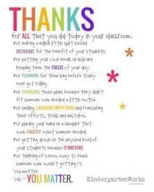 best 25 thank you for teachers ideas on pinterest