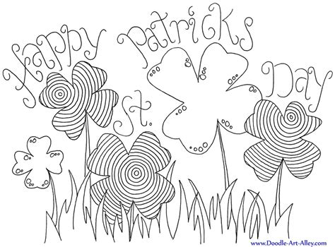 12 St Patrick S Day Printable Coloring Pages For Adults St S Day Coloring Pages For Adults