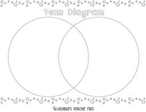 venn diagram foldable printable venn diagram template first grade pinterest venn