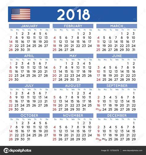 Korea Calendario 2018 2018 Squared Calendario Ingl 233 S Usa Archivo Im 225 Genes