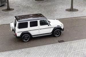 mercedes celebrates 35 years of its g class