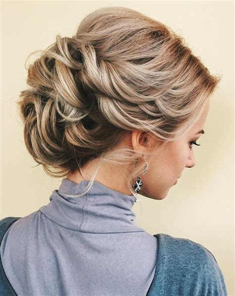 Wedding Hairstyles For Thin Curly Hair by 25 Best Ideas About Curly Updo On