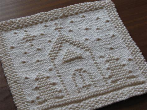 crafty knitting one crafty o holy dishcloth