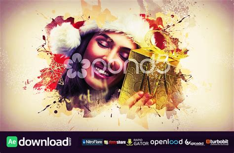 free template after effects merry christmas merry christmas after effects template pond5 free