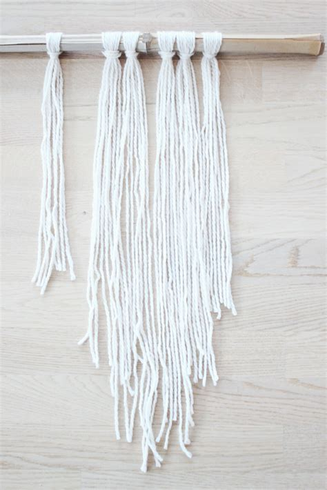 Macrame Yarn - macrame for dummies easy diy tutorial